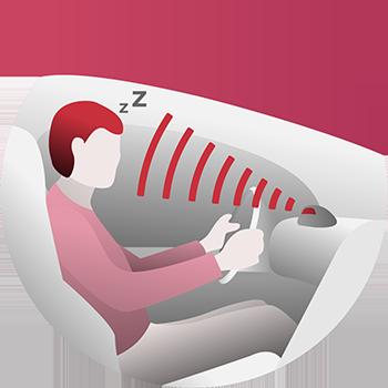 운전자의 졸음을 감지하는 DSM 엔진 기능