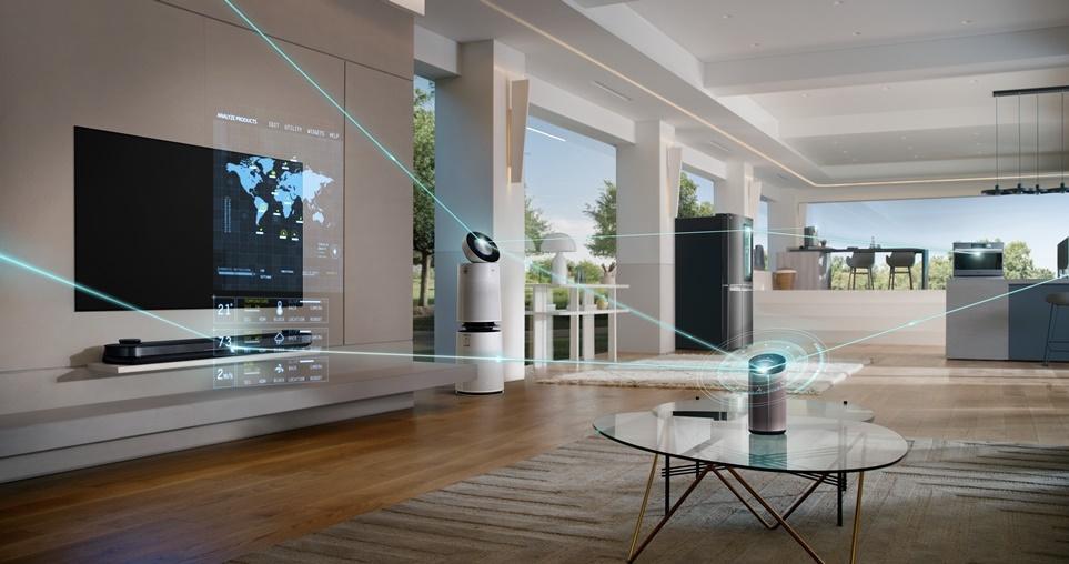 AI-connected home appliances
